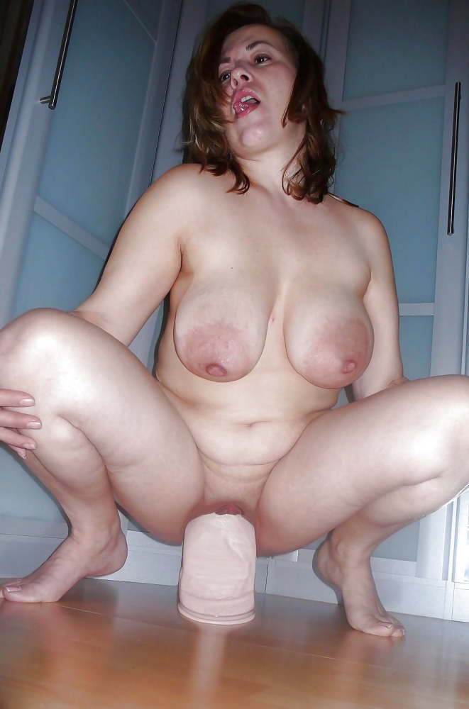 Exposed Slut Wife with HUGE boobs..