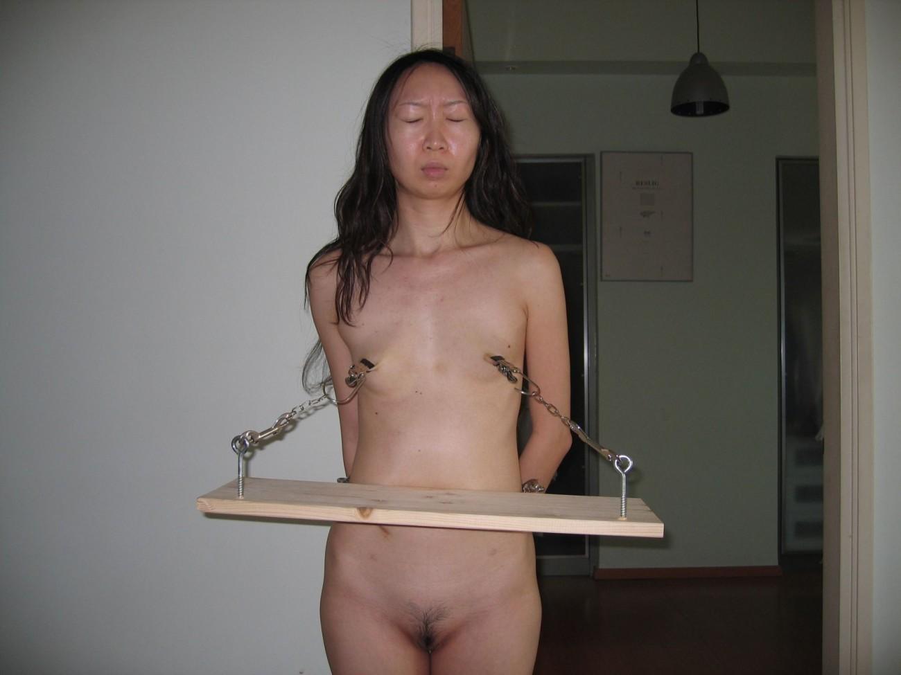 shadow slaves spread nude bondage