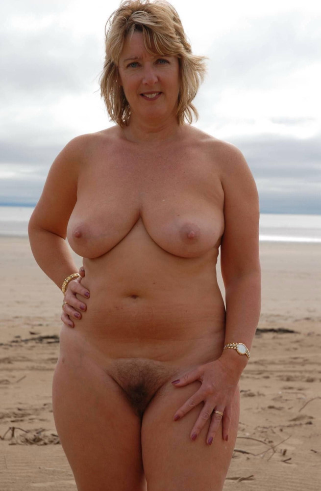 Naked moms and grannies at nudist..