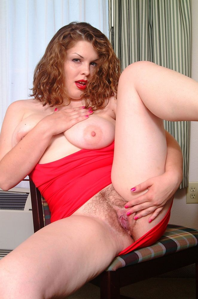 Larger Redhead House Wife With..