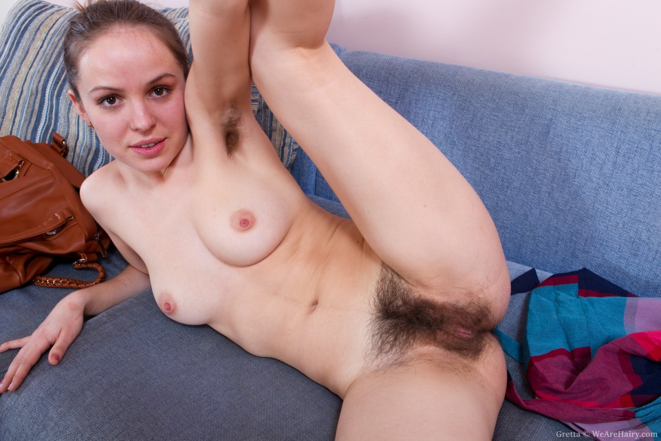Hairy pussy girl getting pounded