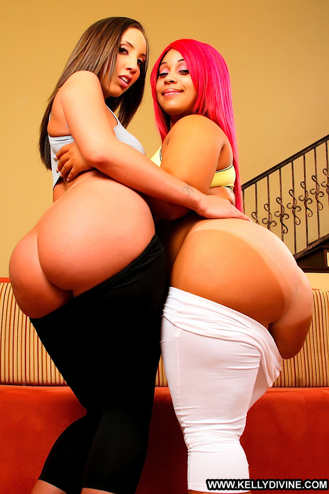 Big Booty Babes Kelly Divine and..