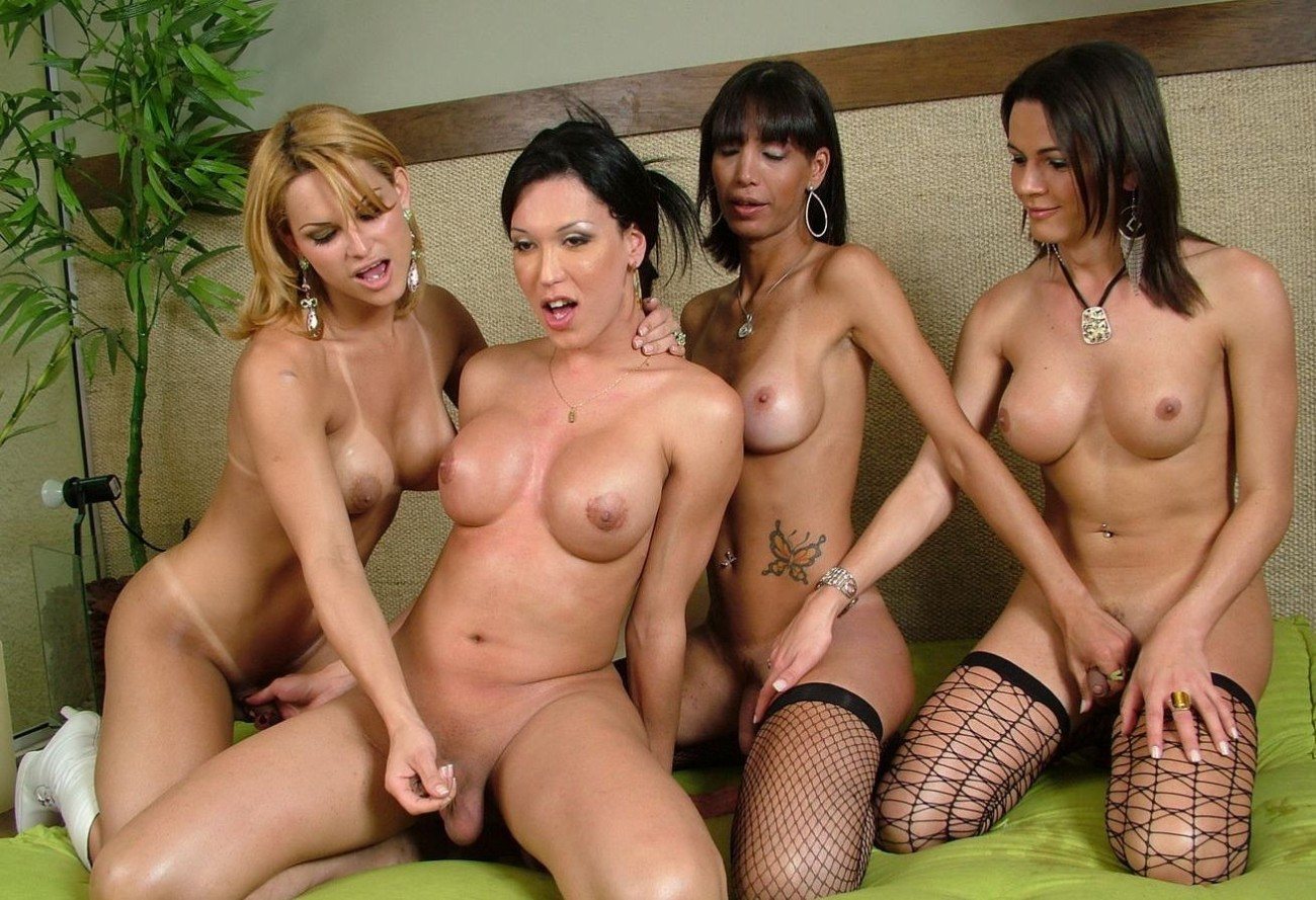 Shemale Orgy - The Hostel Worker