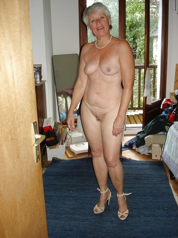 Old mature granny fat hairy..