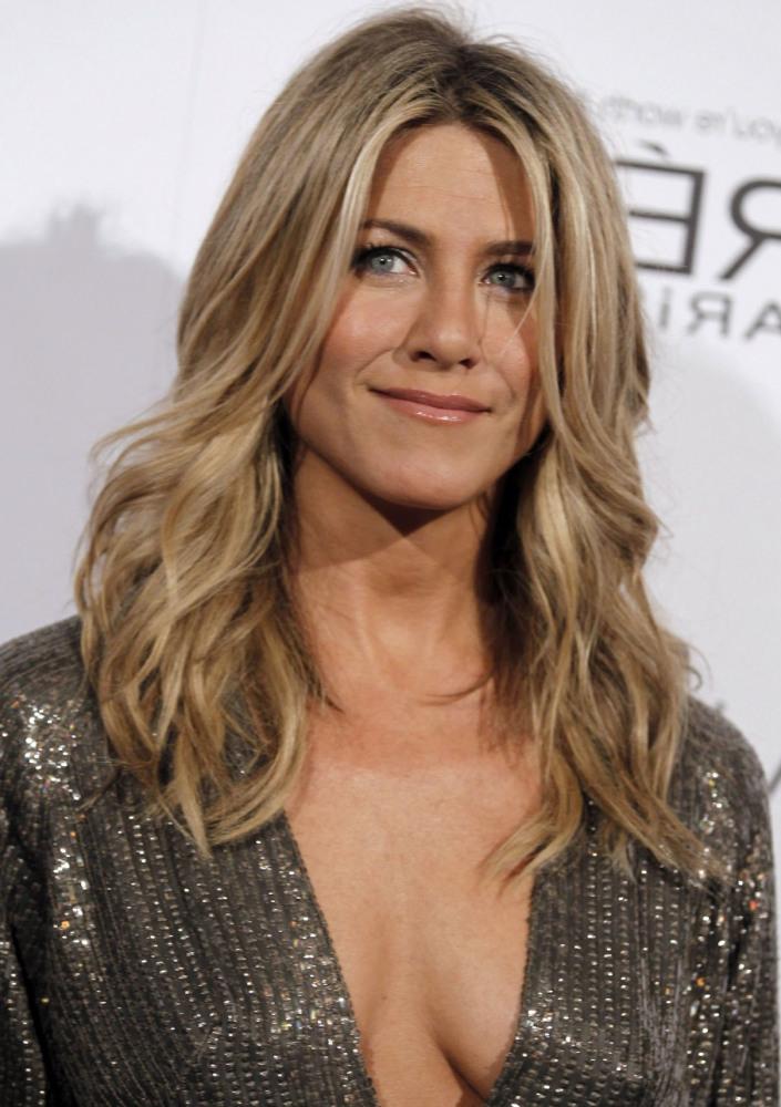 SLAP! TV Actress Jennifer Aniston..