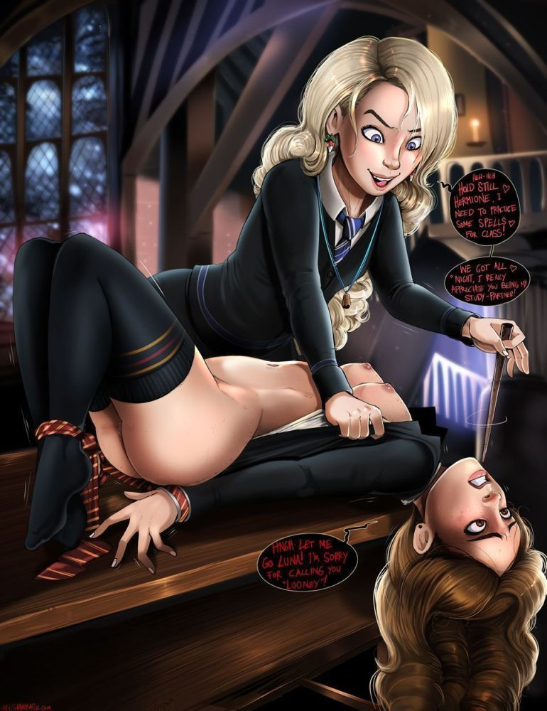 Hentai Harry Potter - Hermione a..