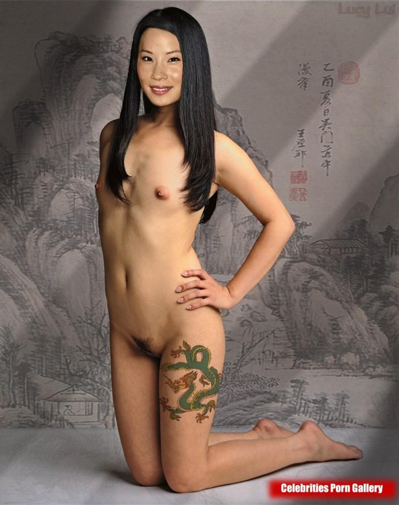 Lucy Liu Celebrity Leaked Nude..