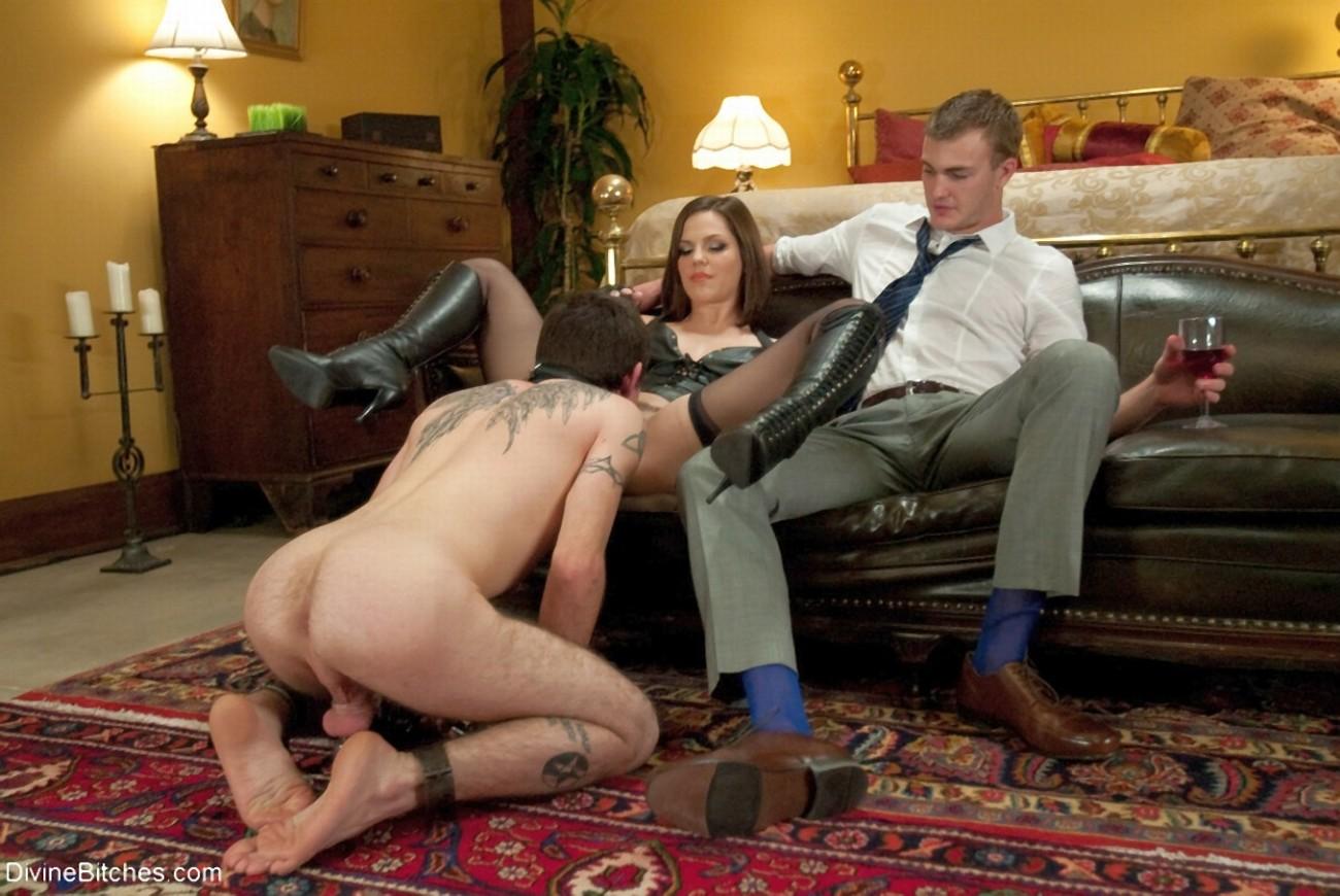 Муж раб жена порно видео