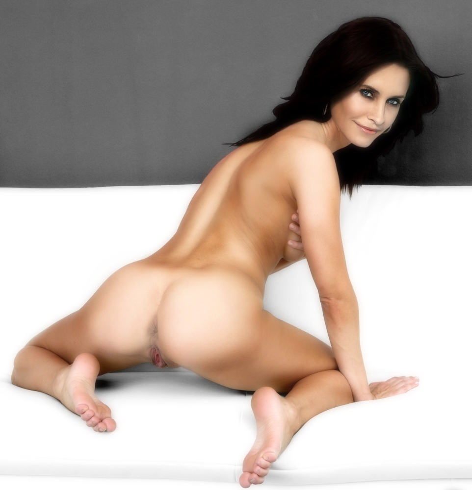 Courteney Cox Jennifer Aniston Nude