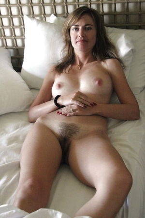 Hairy nude bush